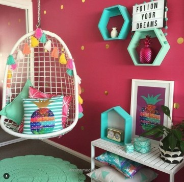 Modern Colorful Bedroom Décor Ideas For Kids 35