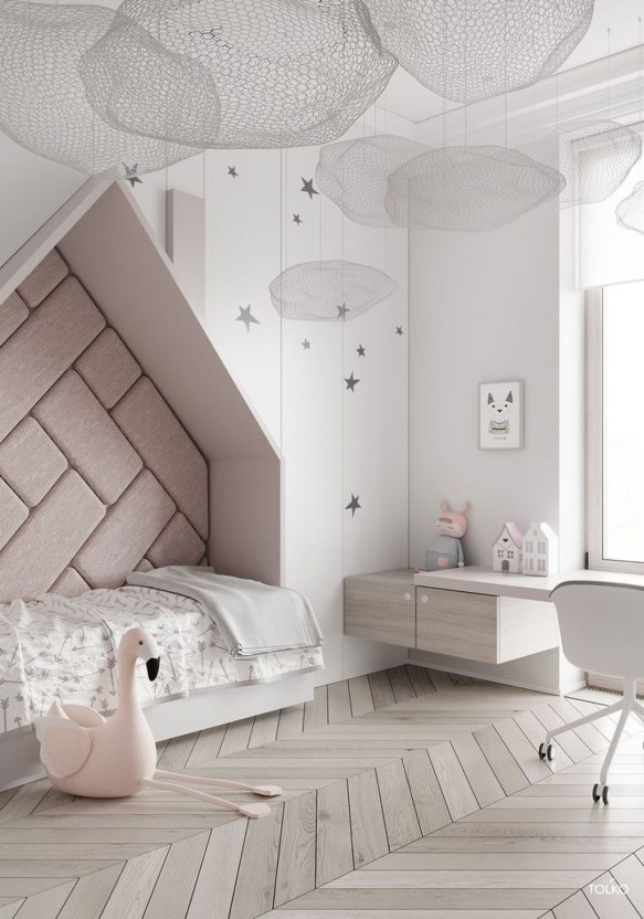 Modern Colorful Bedroom Décor Ideas For Kids 49