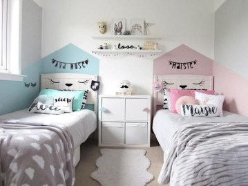 Modern Colorful Bedroom Décor Ideas For Kids 54