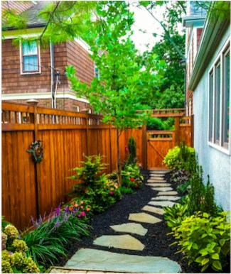 Rustic Side Yard Garden Design And Remodel Ideas 08