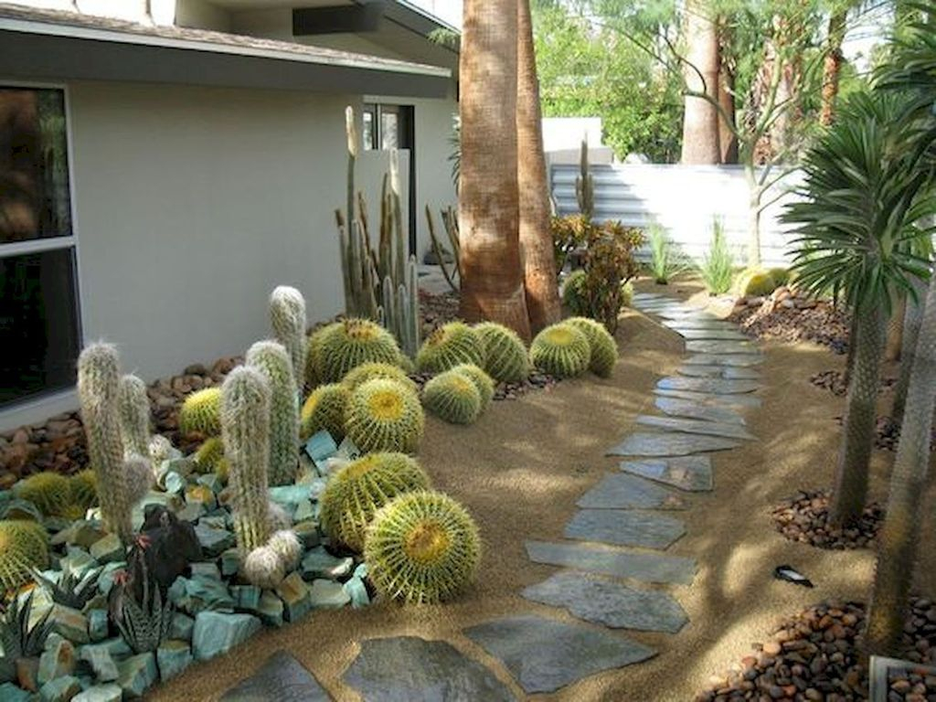 Rustic Side Yard Garden Design And Remodel Ideas 18