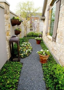 Rustic Side Yard Garden Design And Remodel Ideas 31