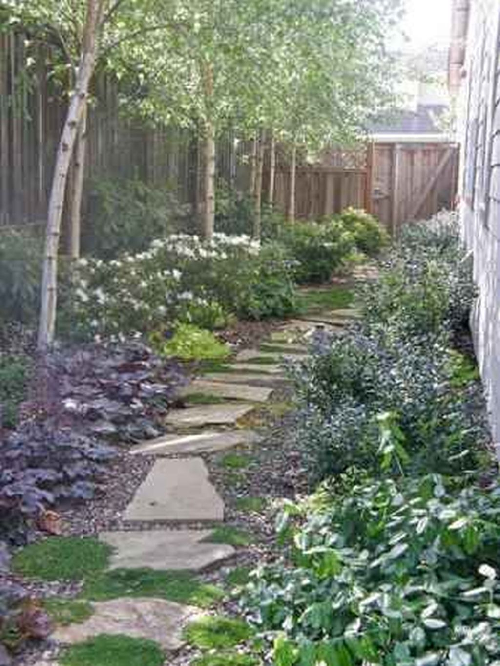Rustic Side Yard Garden Design And Remodel Ideas 34