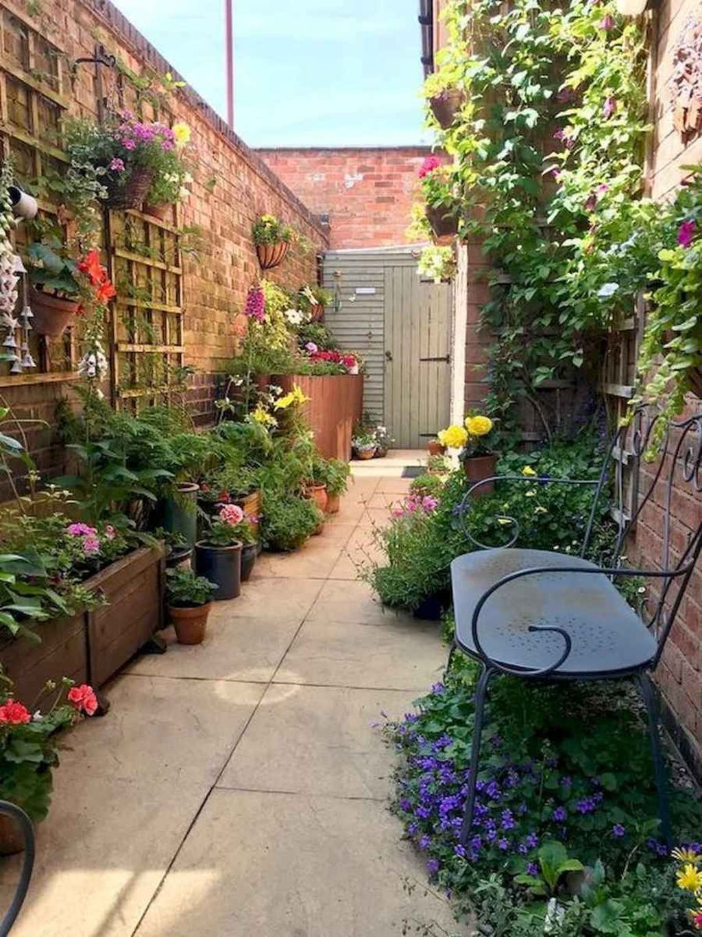 Rustic Side Yard Garden Design And Remodel Ideas 36