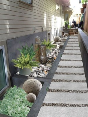 Rustic Side Yard Garden Design And Remodel Ideas 47