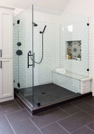 Spectacular Bathroom Tile Shower Ideas That Looks Cool 21
