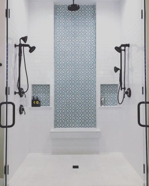 Spectacular Bathroom Tile Shower Ideas That Looks Cool 34
