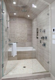 Spectacular Bathroom Tile Shower Ideas That Looks Cool 48