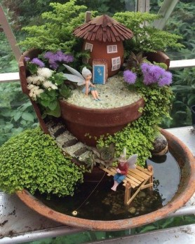 Stunning Diy Fairy Garden Design Ideas To Try This Year 36