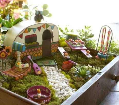 Stunning Diy Fairy Garden Design Ideas To Try This Year 47