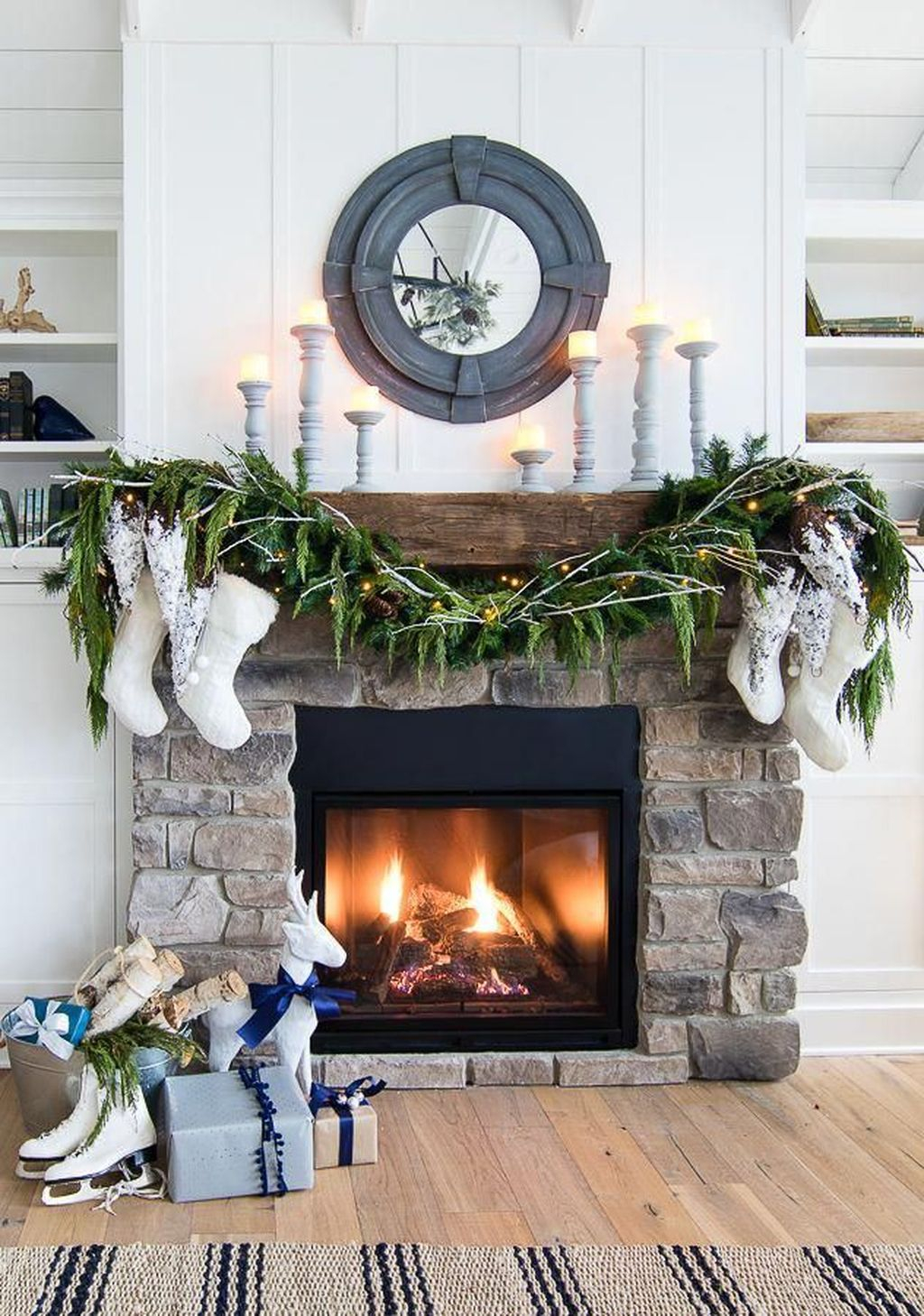 Admiring Fireplace Décor Ideas For Cottage To Try 18