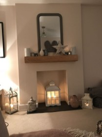 Admiring Fireplace Décor Ideas For Cottage To Try 22