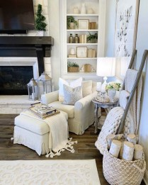 Admiring Fireplace Décor Ideas For Cottage To Try 41