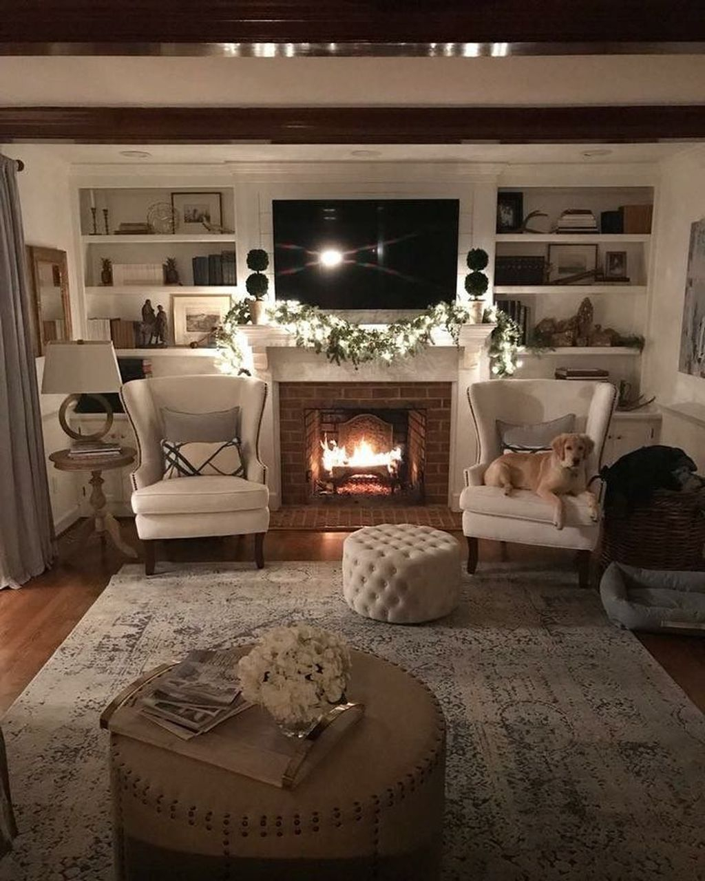 Admiring Fireplace Décor Ideas For Cottage To Try 42