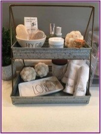 Adorable Farmhouse Bathroom Decor Ideas That Looks Cool 08