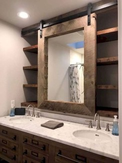 Adorable Farmhouse Bathroom Decor Ideas That Looks Cool 25