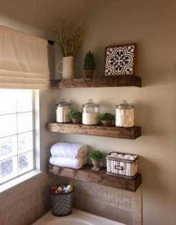 Adorable Farmhouse Bathroom Decor Ideas That Looks Cool 32