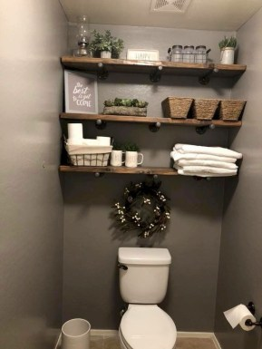 Adorable Farmhouse Bathroom Decor Ideas That Looks Cool 41