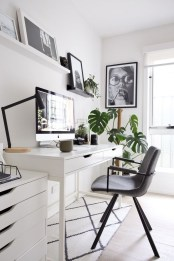 Affordable Diy Home Office Decor Ideas With Tutorials 05