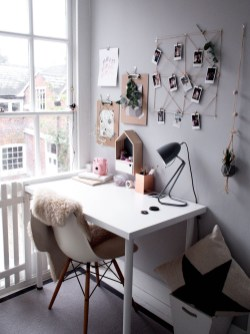 Affordable Diy Home Office Decor Ideas With Tutorials 09