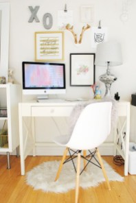Affordable Diy Home Office Decor Ideas With Tutorials 28