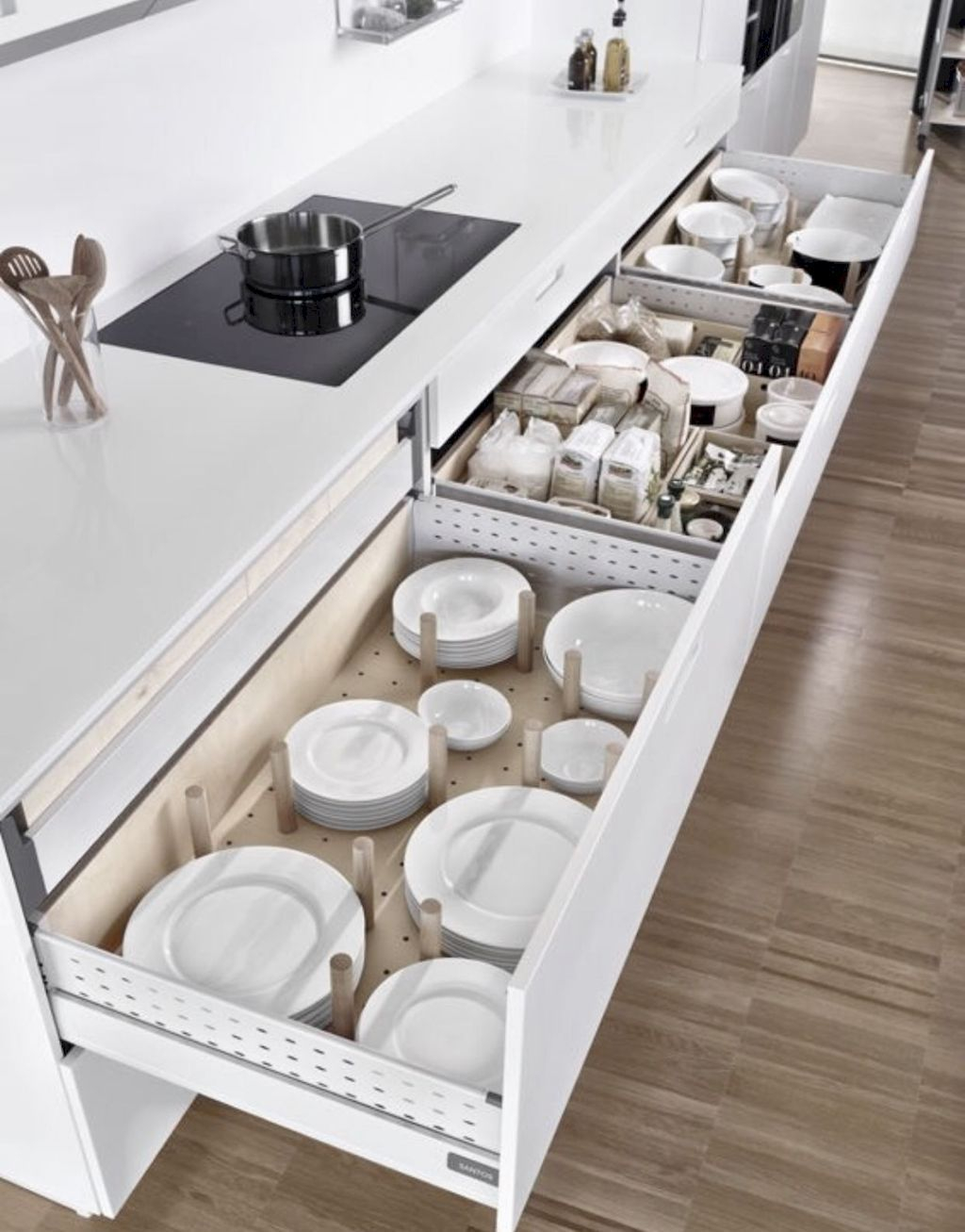 Affordable Kitchen Organization Ideas On A Budget 08
