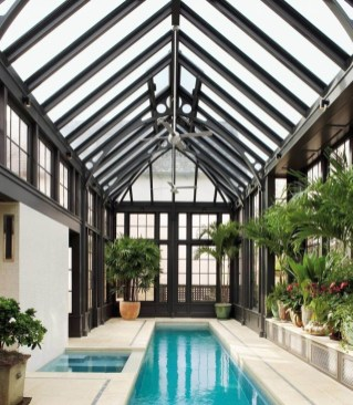 Amazing Swimming Pools Design Ideas For Small Backyards 24
