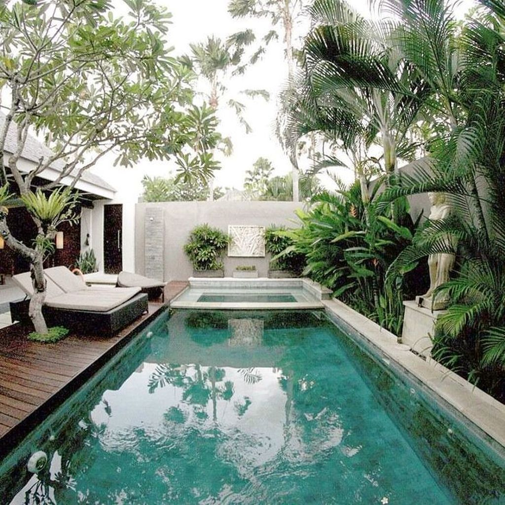 Amazing Swimming Pools Design Ideas For Small Backyards 40