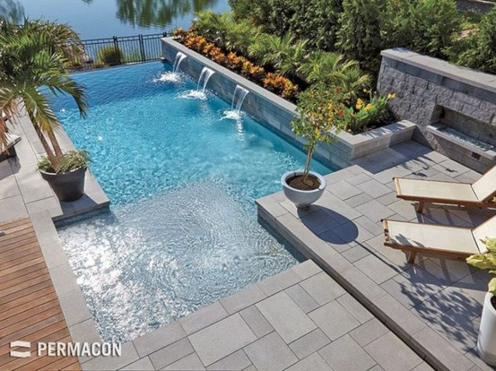 Amazing Swimming Pools Design Ideas For Small Backyards 43