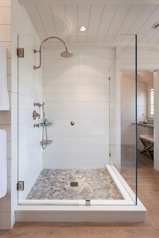 Astonishing Farmhouse Shower Tile Decor Ideas To Try 06