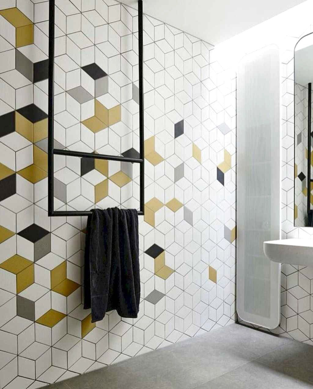 Astonishing Farmhouse Shower Tile Decor Ideas To Try 09