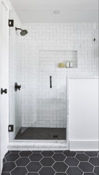 Astonishing Farmhouse Shower Tile Decor Ideas To Try 10