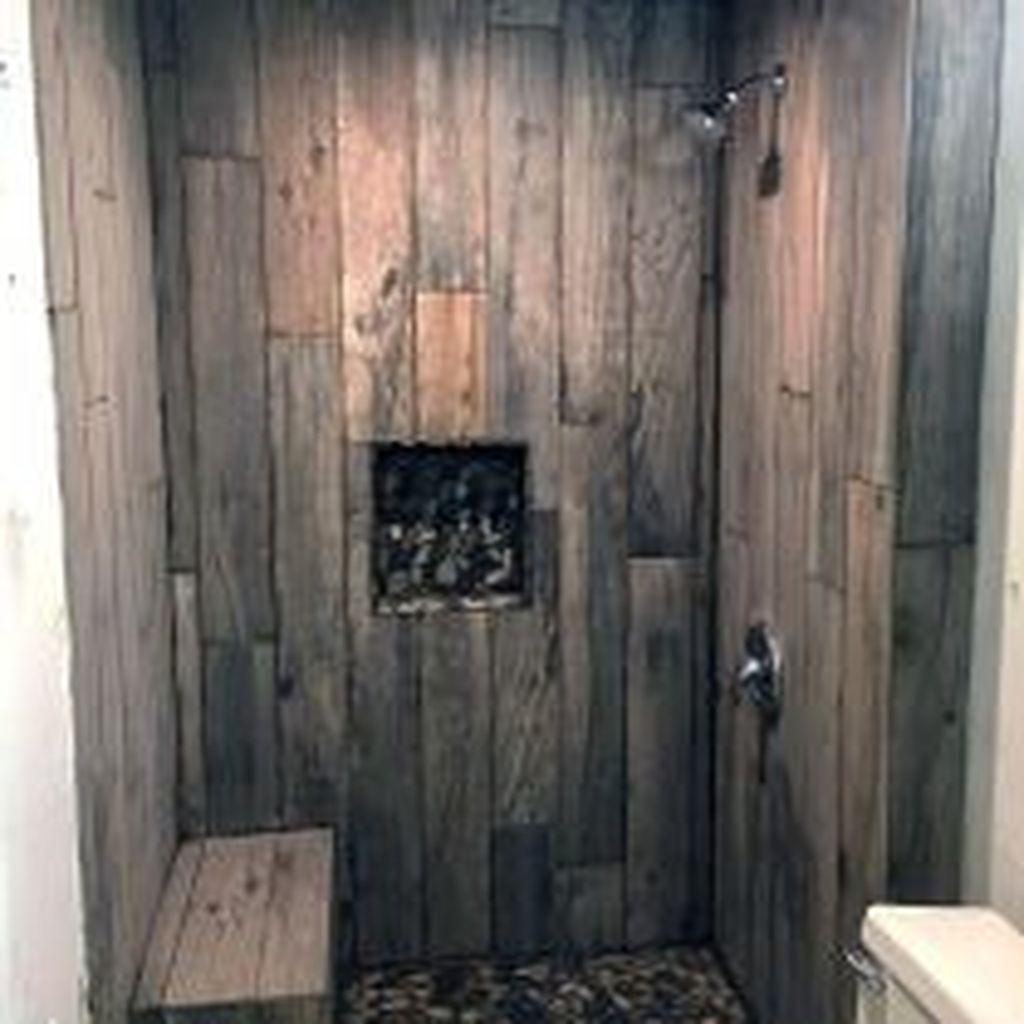 Astonishing Farmhouse Shower Tile Decor Ideas To Try 19