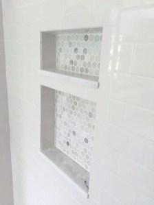 Astonishing Farmhouse Shower Tile Decor Ideas To Try 31