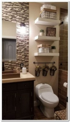 Astonishing Farmhouse Shower Tile Decor Ideas To Try 35