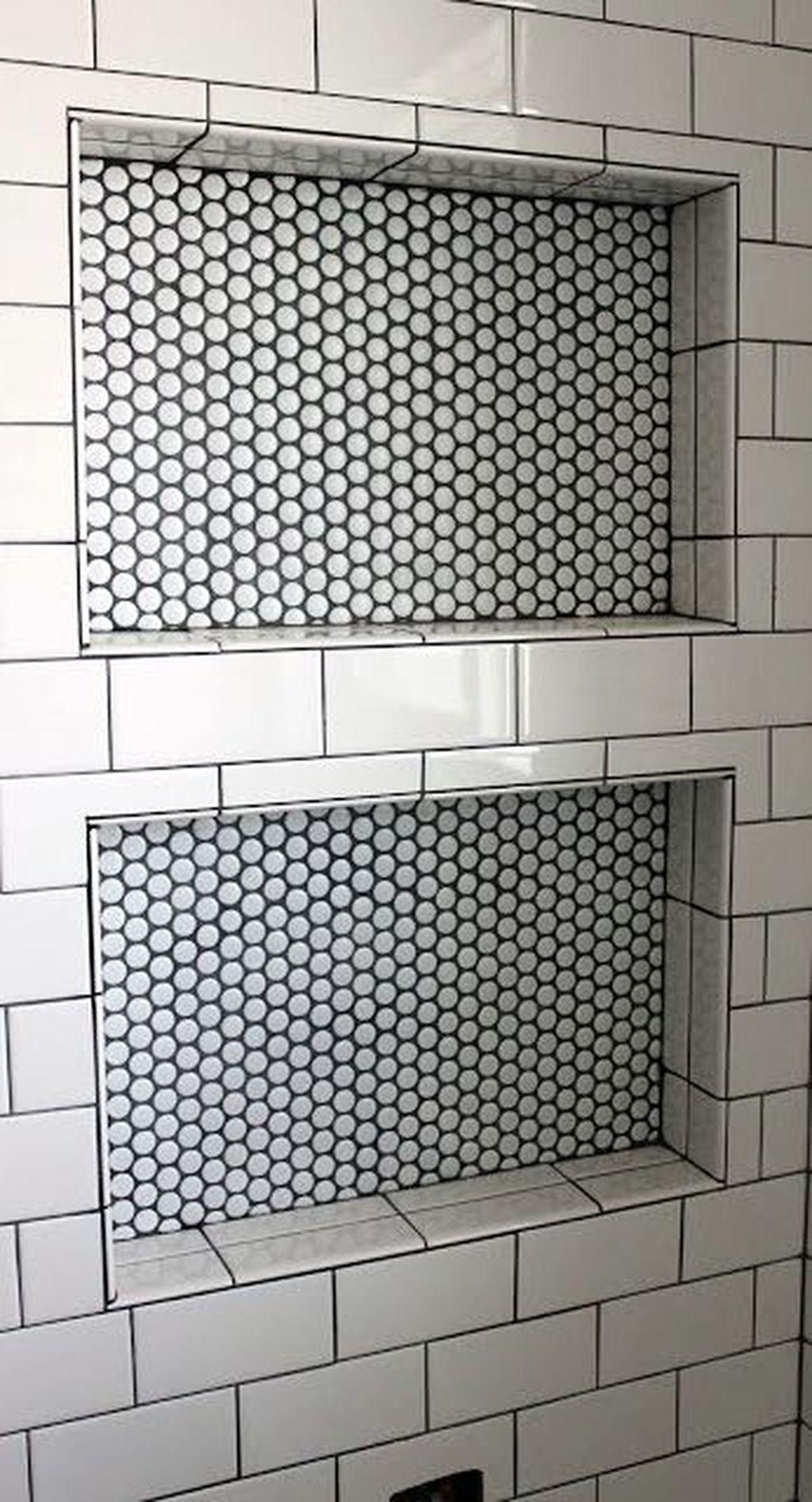 Astonishing Farmhouse Shower Tile Decor Ideas To Try 39