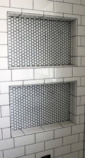 Astonishing Farmhouse Shower Tile Decor Ideas To Try 39