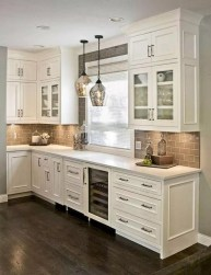 Comfy White Kitchen Cabinets Design Ideas To Try 01