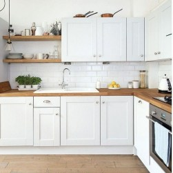 Comfy White Kitchen Cabinets Design Ideas To Try 03