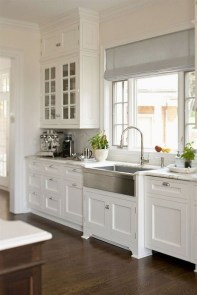Comfy White Kitchen Cabinets Design Ideas To Try 28