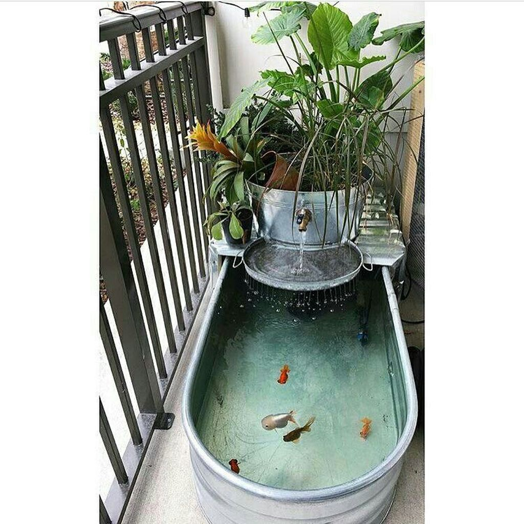 Cool Fish Pond Garden Landscaping Ideas For Backyard 03