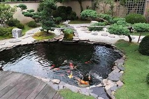 20 Cool Fish Pond Garden Landscaping Ideas For Backyard Homyracks