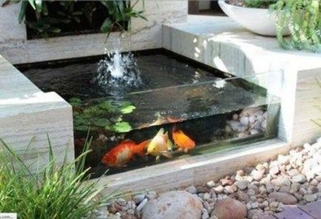 Cool Fish Pond Garden Landscaping Ideas For Backyard 17