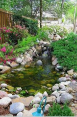 Cool Fish Pond Garden Landscaping Ideas For Backyard 20