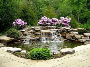 Cool Fish Pond Garden Landscaping Ideas For Backyard 23