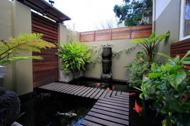 Cool Fish Pond Garden Landscaping Ideas For Backyard 26