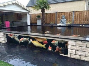 Cool Fish Pond Garden Landscaping Ideas For Backyard 27
