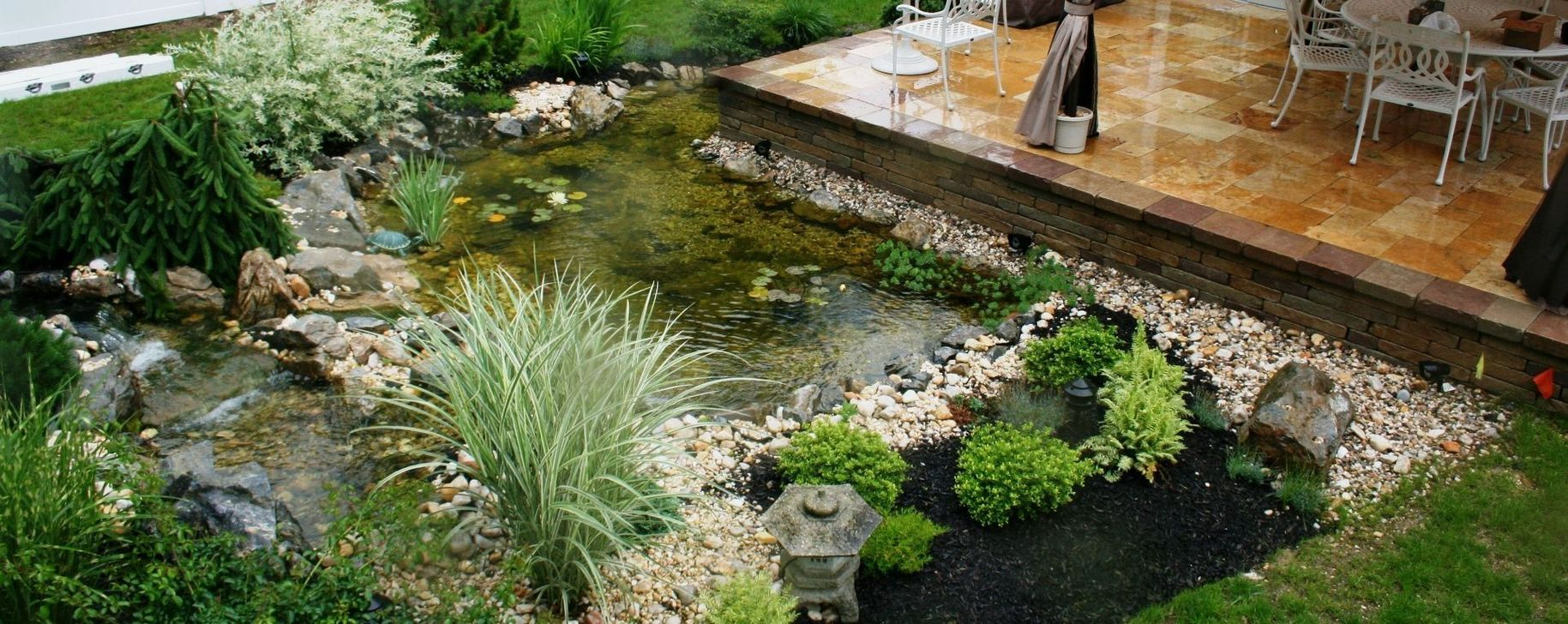 Cool Fish Pond Garden Landscaping Ideas For Backyard 37