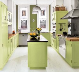 Cool Kitchen Designs Idas With Tones Of Vibrant Colors That You Must See 35