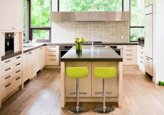 Cool Kitchen Designs Idas With Tones Of Vibrant Colors That You Must See 37